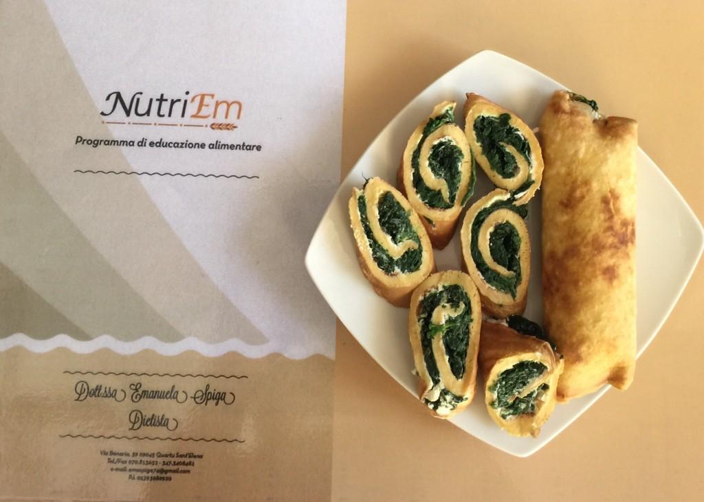 Ricetta Omelette Ricotta E Spinaci.Omelette Con Ricotta E Spinaci Nutriem Dietista Emanuela Spiga